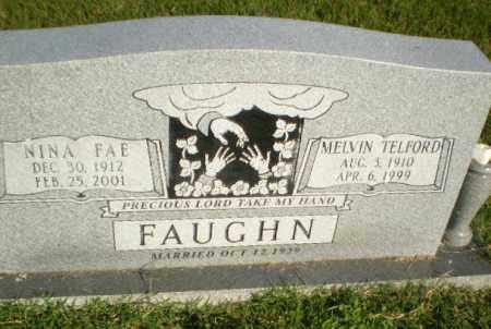 FAUGHN, NINA FAE - Greene County, Arkansas | NINA FAE FAUGHN - Arkansas Gravestone Photos