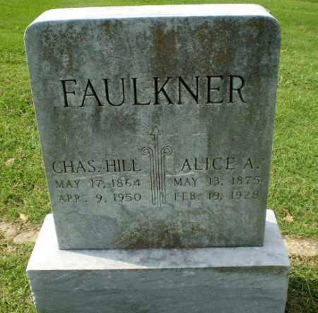 FAULKNER, ALICE A - Greene County, Arkansas | ALICE A FAULKNER - Arkansas Gravestone Photos