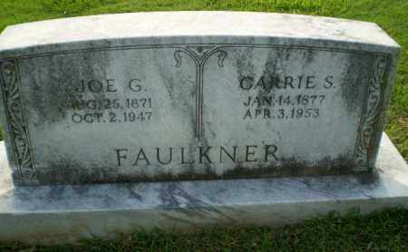 FAULKNER, JOE G - Greene County, Arkansas | JOE G FAULKNER - Arkansas Gravestone Photos
