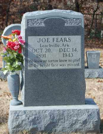 FEARS, JOE - Greene County, Arkansas | JOE FEARS - Arkansas Gravestone Photos