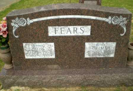 FEARS, SELMA - Greene County, Arkansas   SELMA FEARS - Arkansas Gravestone Photos