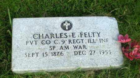 FELTY  (VETERAN SAW), CHARLES E - Greene County, Arkansas | CHARLES E FELTY  (VETERAN SAW) - Arkansas Gravestone Photos
