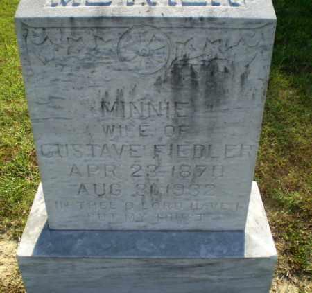 FIEDLER, MINNIE - Greene County, Arkansas   MINNIE FIEDLER - Arkansas Gravestone Photos