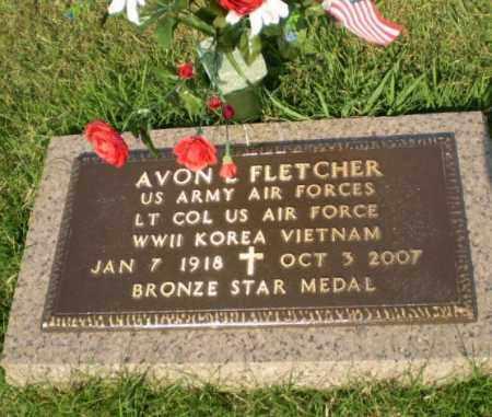 FLETCHER  (VETERAN 3 WARS), AVON L. - Greene County, Arkansas | AVON L. FLETCHER  (VETERAN 3 WARS) - Arkansas Gravestone Photos