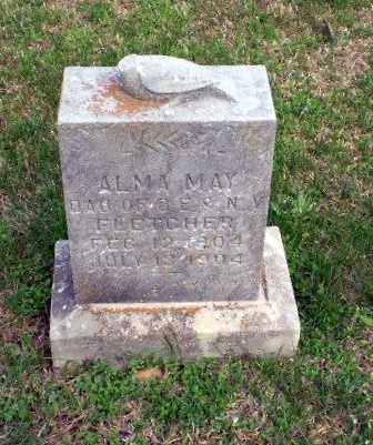 FLETCHER, ALMA MAY - Greene County, Arkansas | ALMA MAY FLETCHER - Arkansas Gravestone Photos