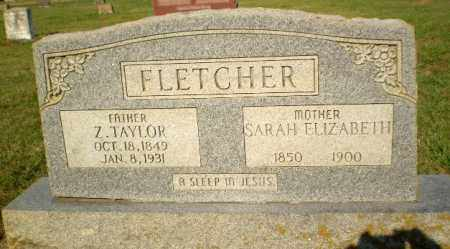 FLETCHER, Z. TAYLOR - Greene County, Arkansas   Z. TAYLOR FLETCHER - Arkansas Gravestone Photos