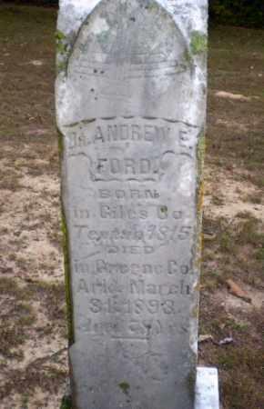 FORD, DR, ANDREW E - Greene County, Arkansas | ANDREW E FORD, DR - Arkansas Gravestone Photos