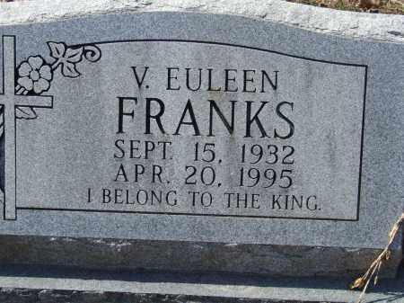 FRANKS, V. EULEEN - Greene County, Arkansas   V. EULEEN FRANKS - Arkansas Gravestone Photos