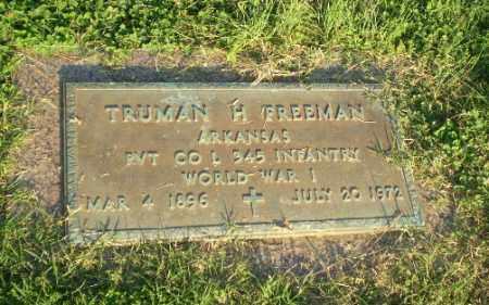 FREEMAN  (VETERAN WWI), TRUMAN H - Greene County, Arkansas | TRUMAN H FREEMAN  (VETERAN WWI) - Arkansas Gravestone Photos
