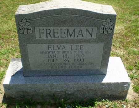BELL FREEMAN, ELVA LEE - Greene County, Arkansas | ELVA LEE BELL FREEMAN - Arkansas Gravestone Photos