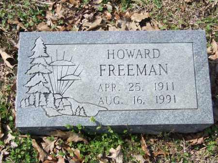 FREEMAN, HOWARD - Greene County, Arkansas | HOWARD FREEMAN - Arkansas Gravestone Photos