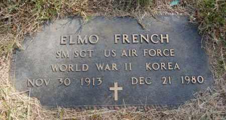 FRENCH (VETERAN 2 WARS), ELMO - Greene County, Arkansas | ELMO FRENCH (VETERAN 2 WARS) - Arkansas Gravestone Photos