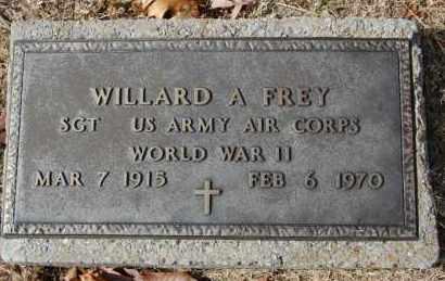 FREY (VETERAN WWII), WILLARD A - Greene County, Arkansas   WILLARD A FREY (VETERAN WWII) - Arkansas Gravestone Photos