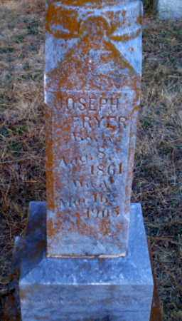FRYER, JOSEPH - Greene County, Arkansas | JOSEPH FRYER - Arkansas Gravestone Photos