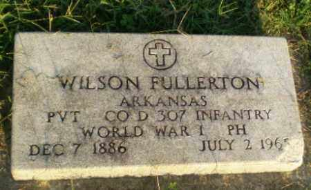 FULLERTON  (VETERAN WWI), WILSON - Greene County, Arkansas | WILSON FULLERTON  (VETERAN WWI) - Arkansas Gravestone Photos