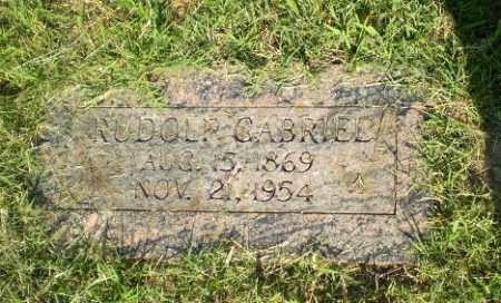 GABRIEL, RUDOLPH - Greene County, Arkansas | RUDOLPH GABRIEL - Arkansas Gravestone Photos