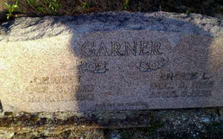 GARNER, ENOCH L - Greene County, Arkansas | ENOCH L GARNER - Arkansas Gravestone Photos