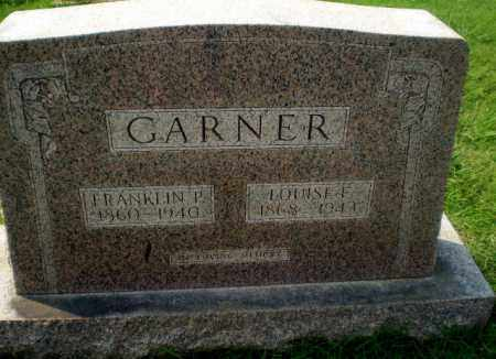 GARNER, FRANKLIN P - Greene County, Arkansas | FRANKLIN P GARNER - Arkansas Gravestone Photos