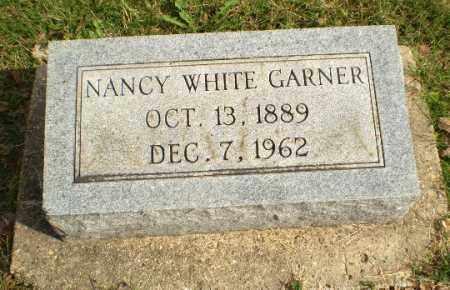 WHITE GARNER, NANCY - Greene County, Arkansas   NANCY WHITE GARNER - Arkansas Gravestone Photos