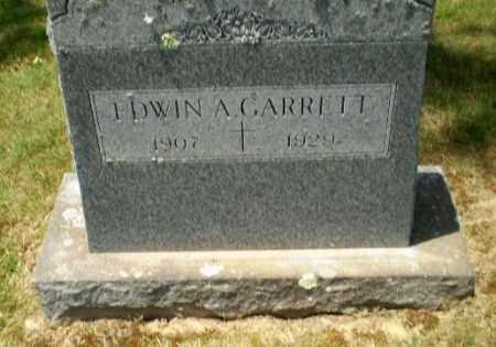 GARRETT, EDWIN A - Greene County, Arkansas | EDWIN A GARRETT - Arkansas Gravestone Photos
