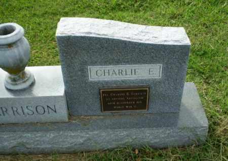 GARRISON  (VETERAN WWII), CHARLIE E - Greene County, Arkansas   CHARLIE E GARRISON  (VETERAN WWII) - Arkansas Gravestone Photos