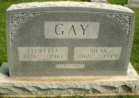 GAY, FLURETTA - Greene County, Arkansas | FLURETTA GAY - Arkansas Gravestone Photos