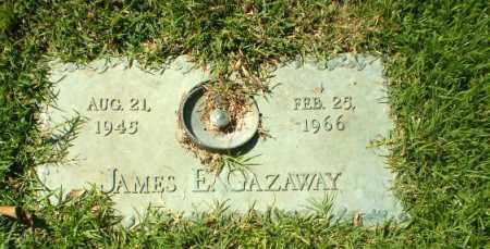 GAZAWAY, JAMES E - Greene County, Arkansas | JAMES E GAZAWAY - Arkansas Gravestone Photos
