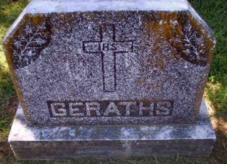 GERATHS FAMILY STONE,  - Greene County, Arkansas    GERATHS FAMILY STONE - Arkansas Gravestone Photos