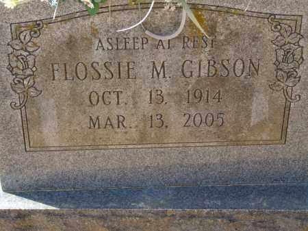 GIBSON, FLOSSIE M. - Greene County, Arkansas   FLOSSIE M. GIBSON - Arkansas Gravestone Photos