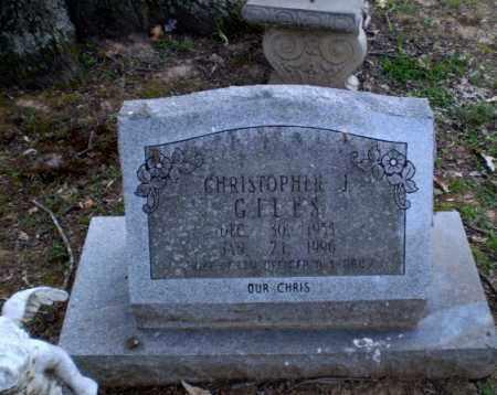 GILES  (VETERAN), CHRISTOPHER J - Greene County, Arkansas | CHRISTOPHER J GILES  (VETERAN) - Arkansas Gravestone Photos