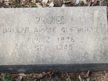 GLEGHORN, DOLLIE DOKIE - Greene County, Arkansas   DOLLIE DOKIE GLEGHORN - Arkansas Gravestone Photos