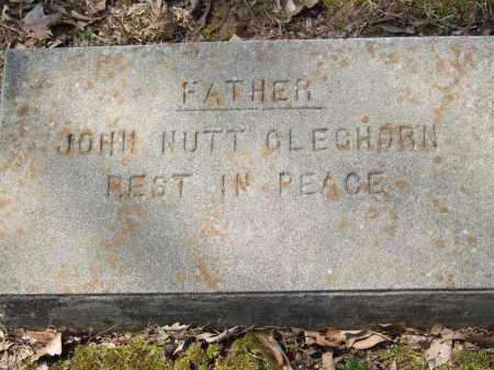 GLEGHORN, JOHN NUTT - Greene County, Arkansas | JOHN NUTT GLEGHORN - Arkansas Gravestone Photos