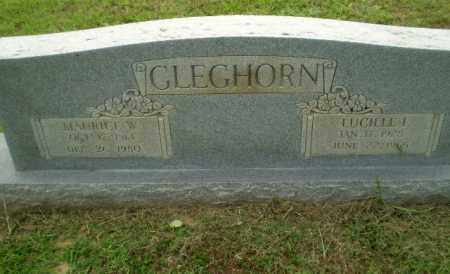 GLEGHORN, MAURICE W - Greene County, Arkansas | MAURICE W GLEGHORN - Arkansas Gravestone Photos
