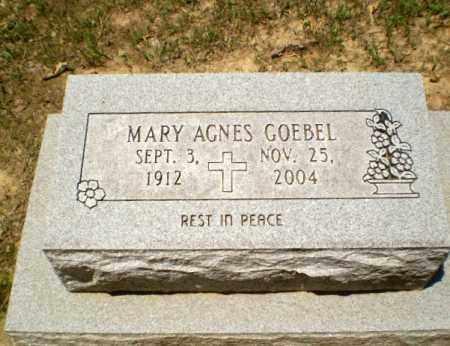 GOEBEL, MARY AGNES - Greene County, Arkansas   MARY AGNES GOEBEL - Arkansas Gravestone Photos