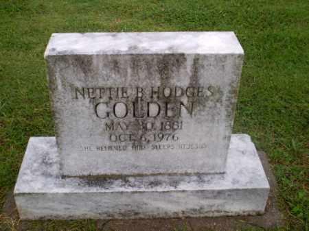 HODGES GOLDEN, NETTIE B - Greene County, Arkansas | NETTIE B HODGES GOLDEN - Arkansas Gravestone Photos