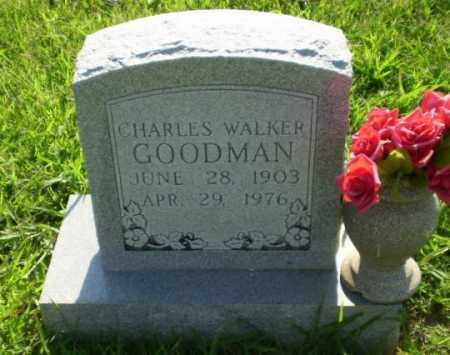 GOODMAN, CHARLES WALKER - Greene County, Arkansas | CHARLES WALKER GOODMAN - Arkansas Gravestone Photos