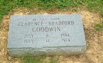 GOODWIN, CLARENCE BRADFORD - Greene County, Arkansas | CLARENCE BRADFORD GOODWIN - Arkansas Gravestone Photos