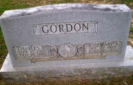 GORDON, ROSEMARY A - Greene County, Arkansas | ROSEMARY A GORDON - Arkansas Gravestone Photos