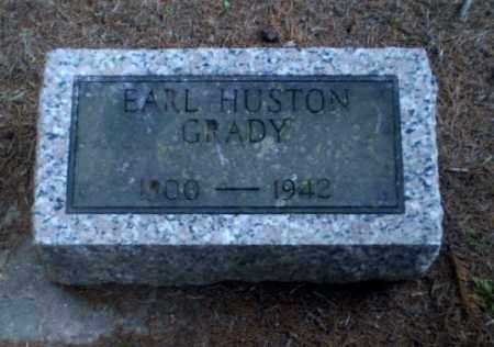 GRADY, EARL HUSTON - Greene County, Arkansas | EARL HUSTON GRADY - Arkansas Gravestone Photos