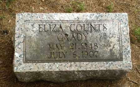 COUNTS GRADY, ELIZA - Greene County, Arkansas | ELIZA COUNTS GRADY - Arkansas Gravestone Photos