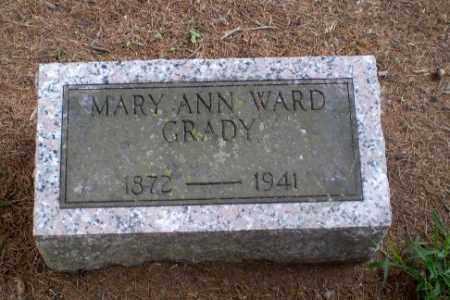 WARD GRADY, MARY ANN - Greene County, Arkansas | MARY ANN WARD GRADY - Arkansas Gravestone Photos