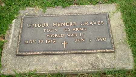 GRAVES (VETERAN WWII), WILBUR HENERY - Greene County, Arkansas | WILBUR HENERY GRAVES (VETERAN WWII) - Arkansas Gravestone Photos