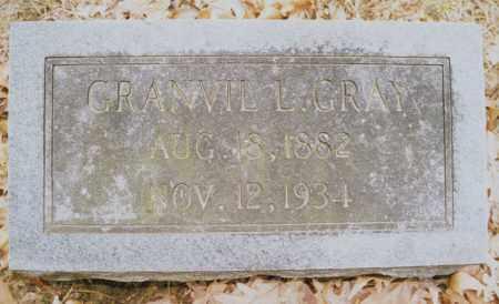 GRAY, GRANVIL L. - Greene County, Arkansas | GRANVIL L. GRAY - Arkansas Gravestone Photos