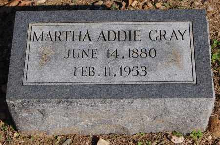 GRAY, MARTHA ADDIE - Greene County, Arkansas | MARTHA ADDIE GRAY - Arkansas Gravestone Photos