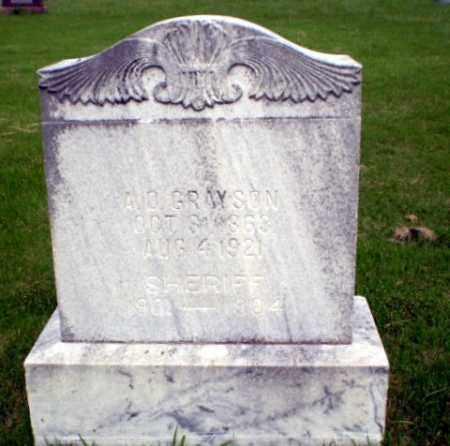GRAYSON, A.D. - Greene County, Arkansas | A.D. GRAYSON - Arkansas Gravestone Photos