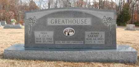 GREATHOUSE, E. GUY - Greene County, Arkansas | E. GUY GREATHOUSE - Arkansas Gravestone Photos