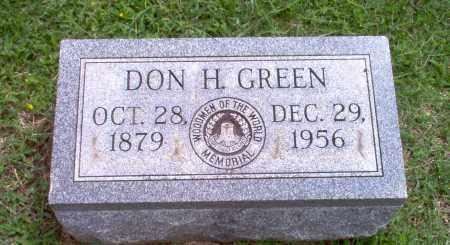 GREEN, DON H - Greene County, Arkansas | DON H GREEN - Arkansas Gravestone Photos