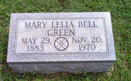 BELL GREEN, MARY LELIA - Greene County, Arkansas | MARY LELIA BELL GREEN - Arkansas Gravestone Photos