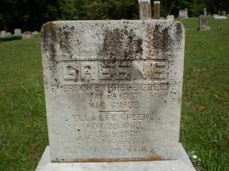 GREENE, EMERSON ETHREECE - Greene County, Arkansas | EMERSON ETHREECE GREENE - Arkansas Gravestone Photos