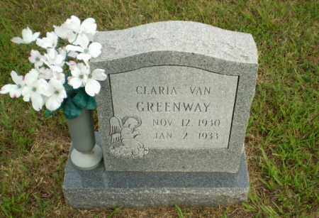 GREENWAY, CLARIA VAN - Greene County, Arkansas   CLARIA VAN GREENWAY - Arkansas Gravestone Photos